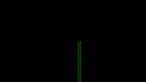 Eckpfosten mit Abdeckleiste für 1030 mm Doppelstabmattenzaun BERLIN - 60x60 mm - RAL 6005 Moosgrün