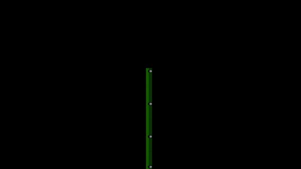 Zaunpfosten mit Klemmlasche für 1230 mm Doppelstabmatte BERLIN - 60x40 mm - RAL 6005 Moosgrün