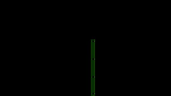 Eckpfosten mit Abdeckleiste für 1230 mm Doppelstabmattenzaun BERLIN - 60x60 mm - RAL 6005 Moosgrün