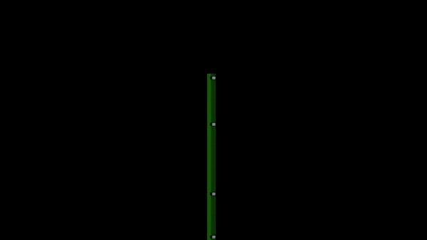 Zaunpfosten mit Klemmlasche für 1430 mm Doppelstabmatte BERLIN - 60x40 mm - RAL 6005 Moosgrün