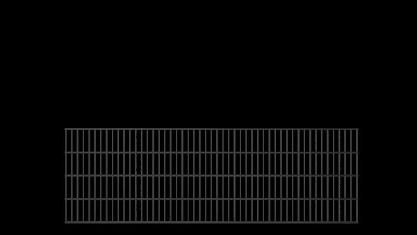 Doppelstabmattenzaun Basic-Linie