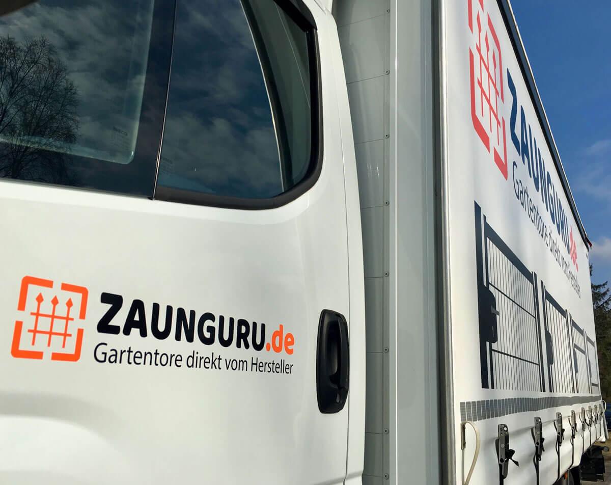 ZaunGuru-LKW-Lieferservice