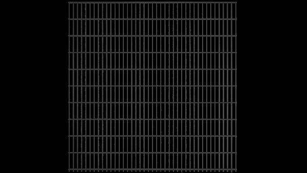 Doppelstabmattenzaun 6/5/6 Modell BERLIN - Höhe: 2030 mm - Breite: 2510 mm - RAL 7016 Anthrazitgrau