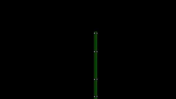 Eckpfosten mit Klemmplatte für 1430 mm Doppelstabmattenzaun BERLIN - 60x60 mm - RAL 6005 Moosgrün